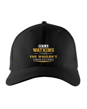 WATKINS - Thing You Wouldnt Understand Embroidered Hat front