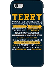 Terry - Completely Unexplainable Phone Case tile