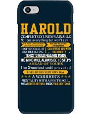 Harold - Completely Unexplainable Phone Case thumbnail