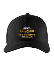 ERICKSON - Thing You Wouldnt Understand Embroidered Hat front