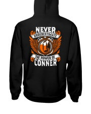 NEVER UNDERESTIMATE THE POWER OF CONNER Hooded Sweatshirt thumbnail