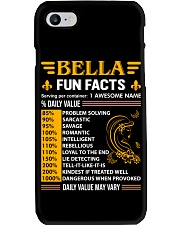 Bella Fun Facts Phone Case thumbnail