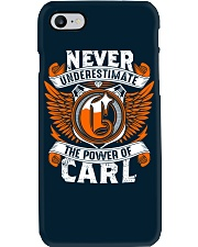 NEVER UNDERESTIMATE THE POWER OF CARL Phone Case thumbnail