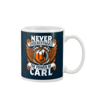 NEVER UNDERESTIMATE THE POWER OF CARL Mug thumbnail