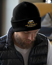 BALL - Thing You Wouldnt Understand Knit Beanie garment-embroidery-beanie-lifestyle-06