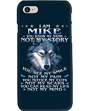 Mike - You dont know my story Phone Case thumbnail