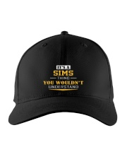 SIMS - Thing You Wouldnt Understand Embroidered Hat front
