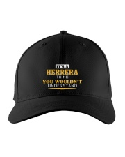HERRERA - Thing You Wouldn't Understand Embroidered Hat front