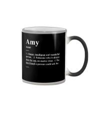 Amy - Definition Color Changing Mug thumbnail