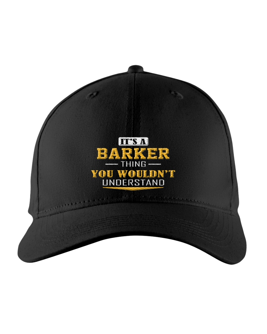 BARKER - Thing You Wouldnt Understand Embroidered Hat