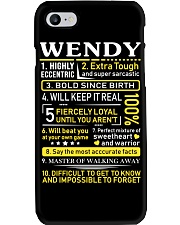 Wendy - Sweet Heart And Warrior Phone Case thumbnail