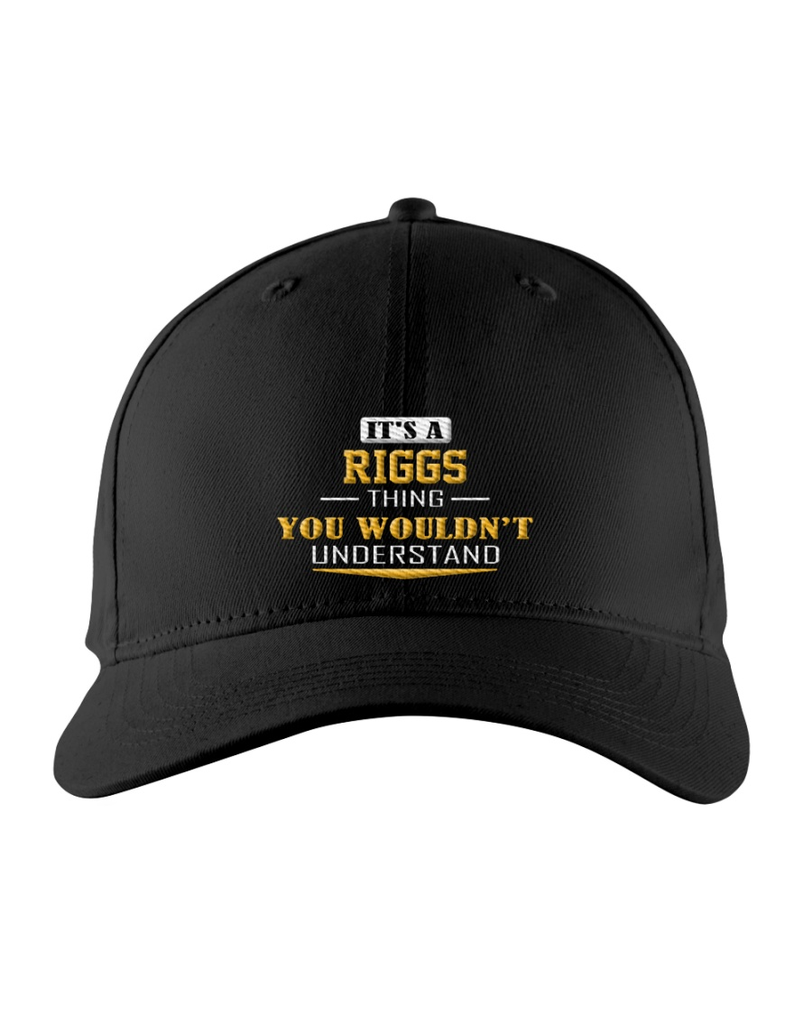 RIGGS - Thing You Wouldnt Understand Embroidered Hat