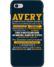 Avery - Completely Unexplainable Phone Case thumbnail