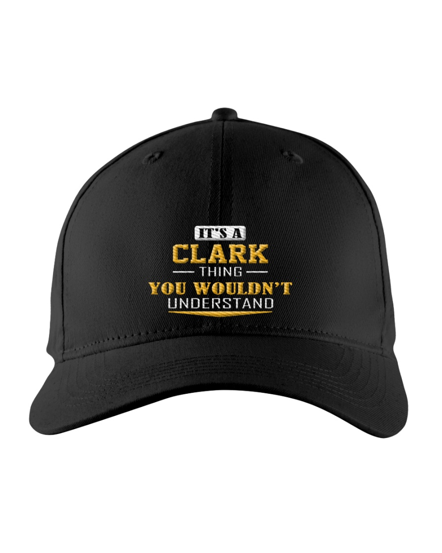 CLARK - THING YOU WOULDNT UNDERSTAND Embroidered Hat