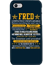 Fred - Completely Unexplainable Phone Case thumbnail