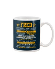 Fred - Completely Unexplainable Mug thumbnail
