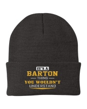 BARTON - Thing You Wouldnt Understand Knit Beanie front