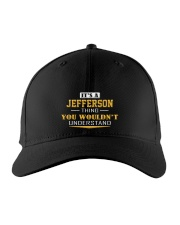JEFFERSON - Thing You Wouldnt Understand Embroidered Hat front