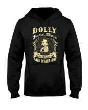 PRINCESS AND WARRIOR - Dolly Hooded Sweatshirt thumbnail