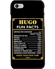 Hugo fun facts Phone Case thumbnail