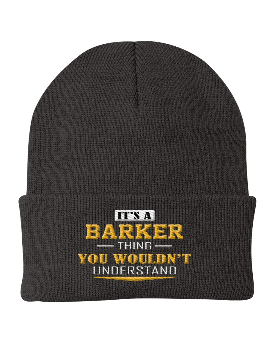 BARKER - Thing You Wouldnt Understand Knit Beanie
