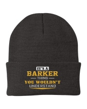 BARKER - Thing You Wouldnt Understand Knit Beanie front