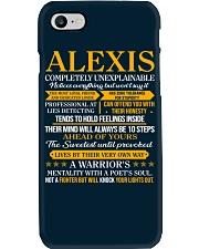 ALEXIS - COMPLETELY UNEXPLAINABLE Phone Case thumbnail