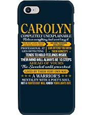 CAROLYN - COMPLETELY UNEXPLAINABLE Phone Case thumbnail
