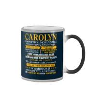 CAROLYN - COMPLETELY UNEXPLAINABLE Color Changing Mug thumbnail
