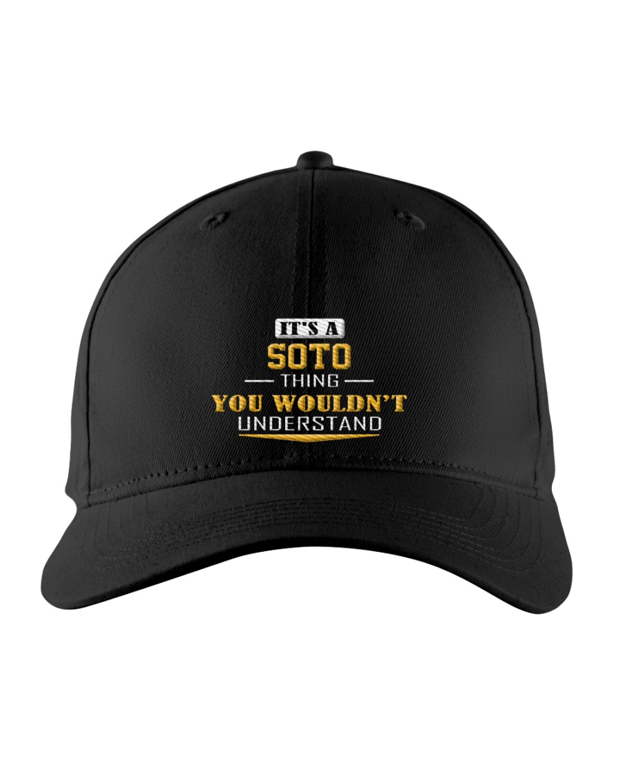 SOTO - Thing You Wouldn't Understand Embroidered Hat
