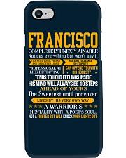 Francisco - Completely Unexplainable Phone Case thumbnail