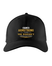 ARMSTRONG - Thing You Wouldnt Understand Embroidered Hat front