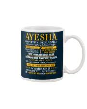 AYESHA - COMPLETELY UNEXPLAINABLE Mug thumbnail