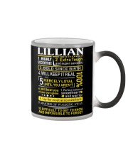 Lillian - Sweet Heart And Warrior Color Changing Mug tile