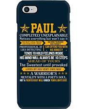 Paul - Completely Unexplainable Phone Case thumbnail