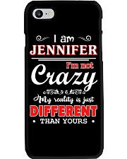 Jennifer - My reality is just different than yours Phone Case thumbnail