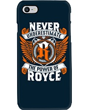 NEVER UNDERESTIMATE THE POWER OF ROYCE Phone Case thumbnail