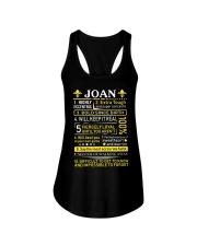 Joan - Sweet Heart And Warrior Ladies Flowy Tank thumbnail