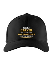 CALVIN - THING YOU WOULDNT UNDERSTAND Embroidered Hat front