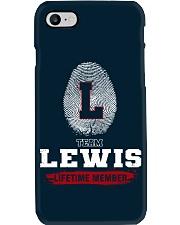 LEWIS - TEAM DS01 Phone Case thumbnail