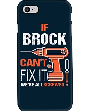If Brock Cant Fix It - We Are All Screwed Phone Case thumbnail