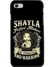 PRINCESS AND WARRIOR - Shayla Phone Case thumbnail