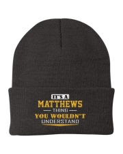 MATTHEWS - Thing You Wouldnt Understand Knit Beanie thumbnail