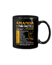Amanda Fun Facts Mug thumbnail