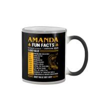 Amanda Fun Facts Color Changing Mug thumbnail