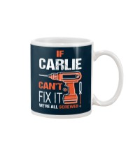 If Carlie Cant Fix It - We Are All Screwed Mug thumbnail