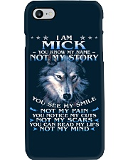 Mick - You dont know my story Phone Case thumbnail