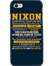 Nixon - Completely Unexplainable Phone Case thumbnail