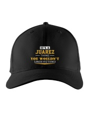 JUAREZ - Thing You Wouldnt Understand Embroidered Hat front