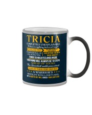 TRICIA - COMPLETELY UNEXPLAINABLE Color Changing Mug thumbnail